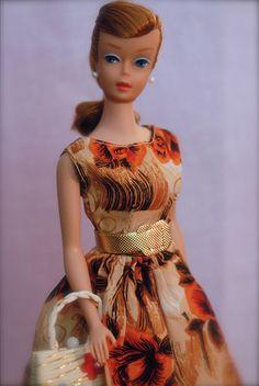 Vintage Swirl Ponytail Barbie - Titian