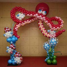 Balloon Columns, Balloon Arch, Balloon Garland, Balloon Centerpieces, Balloon Decorations, Masquerade Centerpieces, Wedding Centerpieces, Mermaid Party Favors, Celebration Balloons