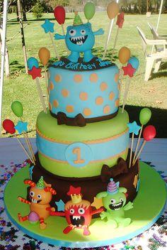little monster cake - Google Search
