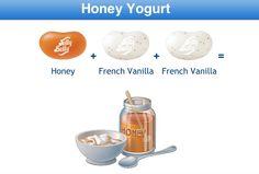 Honey Yogurt Jelly Belly Flavor Recipe Best Candy, Favorite Candy, Candy Recipes, Fun Recipes, Jelly Belly Flavors, Ice Cream Cookies, Japanese Snacks, French Vanilla