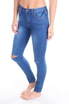 Womens Just Landed - Just Landed Ripped Jeans, Skinny Jeans, Dark, Pants, Clothes, Shopping, Women, Fashion, Tattered Jeans
