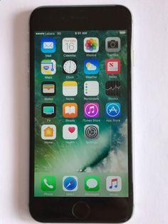 Unlocked Smartphones - Apple iPhone 6 - 128GB - Space Grey (Unlocked) Smartphone 888462062985 | eBay
