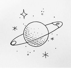 Doodle art 625930048196422175 - 55 Cool & Easy Things to Draw in Your Sketchbook // Easy things to draw, drawing ideas, doodles, planet drawing Source by shihoriobata Mini Drawings, Space Drawings, Cute Easy Drawings, Pencil Art Drawings, Doodle Drawings, Drawing Sketches, Drawing Ideas, Sketchbook Drawings, Drawing Drawing