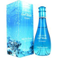 Davidoff Cool Water: Into The Ocean Women's 3.4-ounce Eau de Toilette... ($39) ❤ liked on Polyvore featuring beauty products, fragrance, eau de toilette perfume, davidoff fragrance, spray perfume, edt perfume and davidoff perfume
