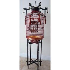 Image of Antique Bird Cage