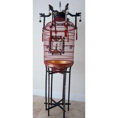 Image of Antique Bird Cage Antique Bird Cages, Decorative Objects, Antiques, Image, Furniture, Design, Home Decor, Antiquities, Antique