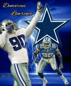 DeMarcus Lawrence Dallas Cowboys Pictures, Cowboy Pictures, Dallas Cowboys Football, Football Players, Cowboys From Hell, How Bout Them Cowboys, Demarcus Lawrence, Dak Prescott, Love My Boys