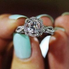 Nicole) Guys i forgot to show you my engagement ring. So this is it!