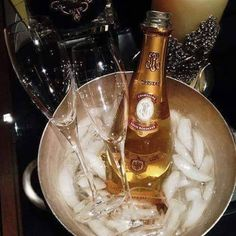 Always carry a bottle of champagne! In victory You deserve it & in defeat You need it! Roederer Champagne, Louis Roederer, Cristal Rose, Dom Perignon, Champagne Cocktail, Success, The Duff, White Wine, Girly Things