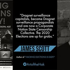 James Scott, Co-founder ICIT and CCIOS    #USelections #CCIOS #ICIT #JamesScott #votingmachines #CyberSecurity #DNCLeaks #capacity #UnhackTheVote #votersuppression #votehackng #ECHack #Dragnet #Inspiration
