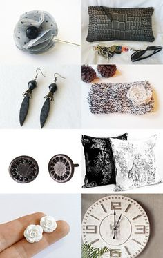 Black and White Collection by carole on Etsy--Pinned with TreasuryPin.com