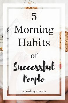 These are 5 morning habits that are essential for a successful and productive day. If you want to start a new morning routine then consider these 5 things. Morning Habits, Morning Routines, Block Scheduling, Beauty Hacks For Teens, Habits Of Successful People, Evening Routine, Beauty Habits, Productive Day, Good Habits