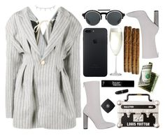 """""""cause you look even better than the photos"""" by hoodprophet ❤ liked on Polyvore featuring KRISVANASSCHE, Crate and Barrel, Rachael Ray and Julep"""