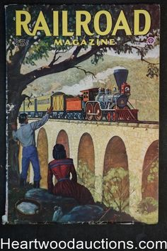 Railroad Magazine Feb 1946 Frederick Blakeslee Cover   eBay