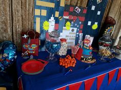 Kids Party Themes, Themed Parties, Birthday Cake, Food, Theme Parties, Birthday Cakes, Essen, Meals, Yemek