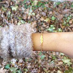 #ohrajewelry #featherbracelet #goldbracelet #handmadebracelet