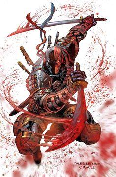 Death Stroke by Mystic-Oracle.deviantart.com on @DeviantArt