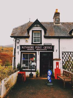 Kenmore, Scotland.  How adorable is this??