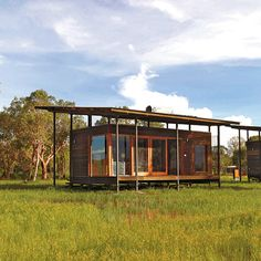 """The next level of """"glamping"""" is the architent — high-spec, high-style canvas accommodations."""