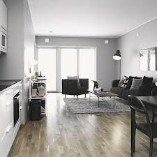 black and white apartment - Google Search