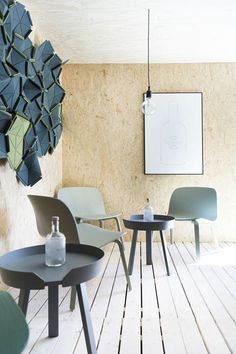 More vibes from gin club at summer 2015 - Muuto Interior and by on the wall by Home Interior Design, Appartment Decor, Decor, Colorful Table, Interior Design, Coffee Table Design, Interior, Home Decor, Coffee Table Setting