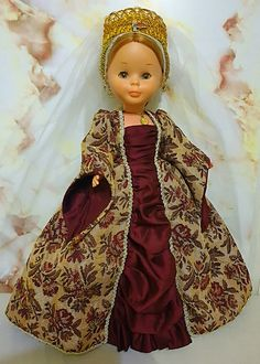 En la edad media Nancy Doll, Barbie Clothes, Nostalgia, Dolls, Dresses, Instagram, Fashion, Medieval Gown, Doll Dresses