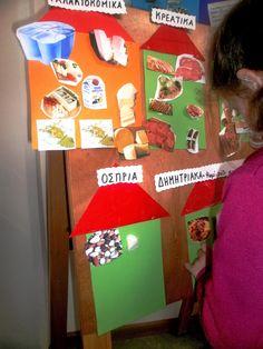 Food Crafts, Crafts For Kids, Blog, Greek, Crafts For Children, Kids Arts And Crafts, Blogging, Greece, Kid Crafts