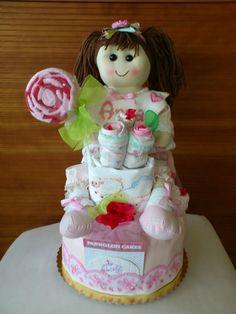 diaper cakes torta di pannolini