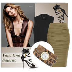 Valentina Salerno Jewelry by monmondefou on Polyvore featuring moda, Monki and Giuseppe Zanotti