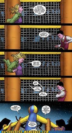 Stephanie Brown(Batgirl) and Damian Wayne(Robin)