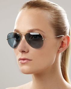 Ray Ban Glasses with Blue glass