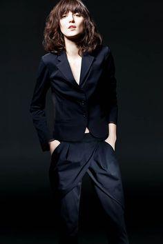 Irina Lazareanu for Philippe Dubuc+Icone Simons Spring 2011 campaign