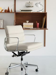 The authentic Eames Aluminum Group Task Chair. On the job for 56 years.