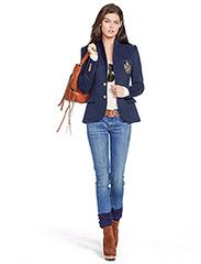 Klikk her for å se og kjøpe Polo Ralph Lauren Custom Blazer Jacket (Aviator Navy) til 2899 kr. Ny kolleksjon fra Ralph Lauren! Rask levering, enkel retur og sikker betaing