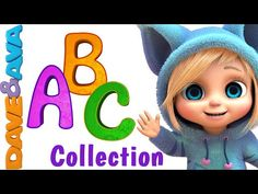 ABC Song | Nursery Rhymes Collection | YouTube Nursery Rhymes from Dave and Ava - YouTube