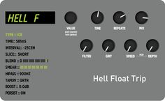 This Week's Preset: Hell Float Trip   A weird and #spooky #TimeLine preset for #Halloween. #strymonpreset