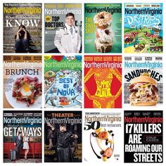 It's been a great year! Here's a look at all of our covers in #2014. | Which one was your favorite? #NoVAMag #YearInReview
