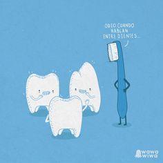 Hablando entre dientes