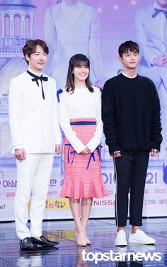 [HD포토] 윤상현-남지현-서인국 미녀를 둘러싼 흑과 백 #topstarnews