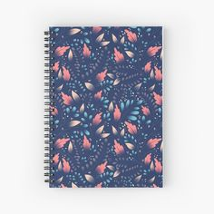 Floral Texture, My Notebook, Spiral, My Arts, Art Prints, Printed, Awesome, Pattern, Products