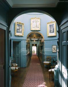 Walmer Castle ~ The Lantern. (Circular Room on first floor corridor).