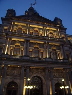 'Glasgow City Chambers at Night' - Andrew Crosbie #glasgow #glasgow2014 #scotland www.glasgow2014.com