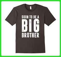 Mens Soon To Be Big Brother T-Shirt Promoted To Big Brother Shirt XL Asphalt - Relatives and family shirts (*Amazon Partner-Link)