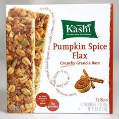 Kashi Crunchy Pumpkin Spice Flax Granola Bars