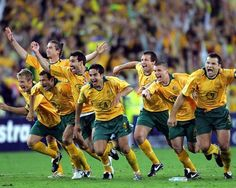 Socceroos qualify for the 2006 World Cup after a penalty shoot out with Uruguay