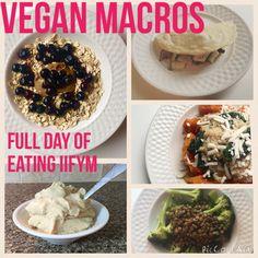 Vegan Macros - Full Day of Eating Vegan IIFYM #11 -HollyBrownFit.com