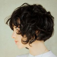 If I knew for sure my hair would wave like this when cut short, I'd totally chop off my hair.