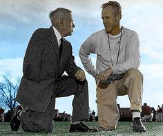 Bennie Owen and Bud Wilkinson