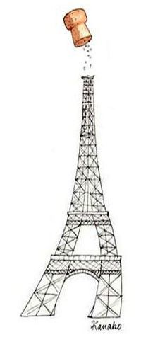 Ephemeral Champagne bar, on the last floor of the Eiffel Tower  Open from 12.30pm to 6pm and 6.45pm to 10pm  10€ for a white or rosé champagne glass  To avoid waiting in line, you can now book your elevator ride on www.tour-eiffel.fr.