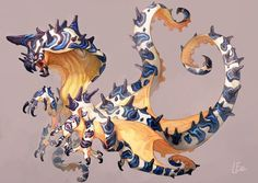 A mimic octopus dragon